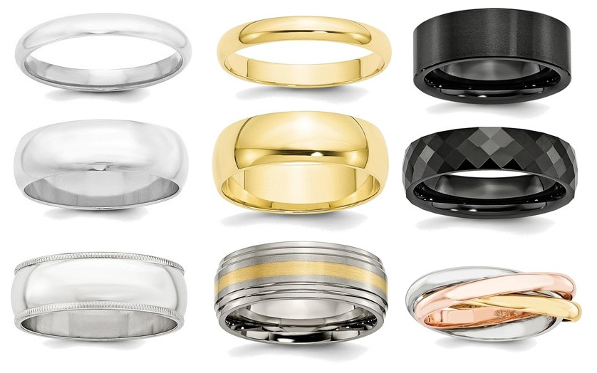 Wedding Band Rings