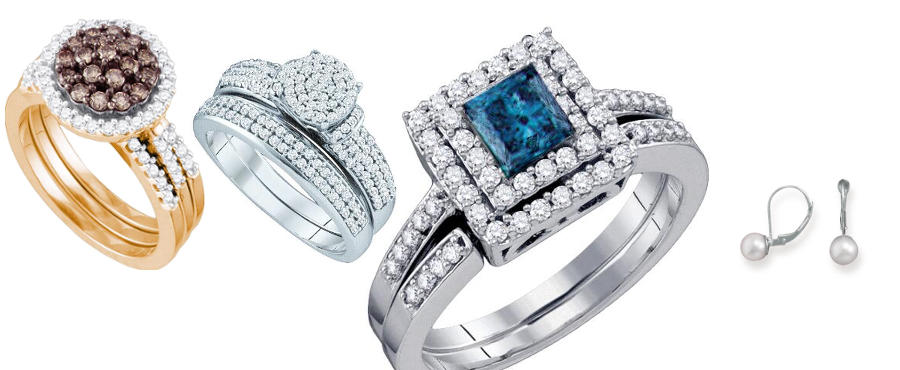 Bridal jewelry, including diamond engagement rings, wedding bands, and more.