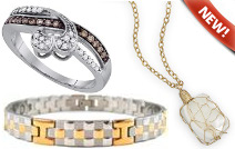 New jewelry arrivals, featuring the latest in sterling silver jewelry, gold jewelry, diamond jewelry, and more!