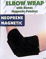 Magnetic Elbow Wrap - w/ Bonus Patches