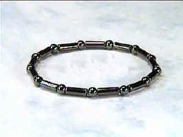 Hematite Sticks n Stones - Magnetic Therapy Bracelet