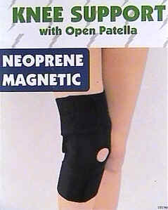 Magnetic  Knee Wrap - w- Kneecap Opening (K-34070)