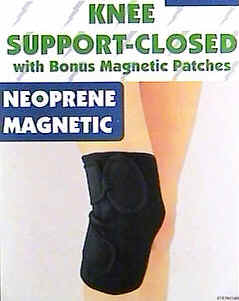 Magnetic Knee Wrap (closed) - w/ Bonus Magnetic Patches