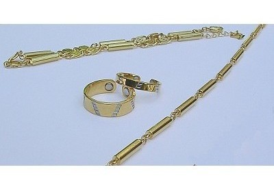 Gold Set Magnetic Jewelry Collection