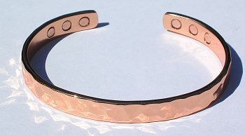 Brilliance - Solid Copper Magnetic Therapy Cuff (kw381c)