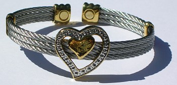 Sweet Heart Magnetic Therapy Cuff (w6sg75) - DISCONTINUED