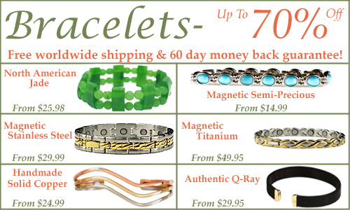 Bracelets are on sale now at BillyTheTree.com. Save up to 70%, receive free shipping, and shop with confidence, with our 60 day satisfaction guarantee!