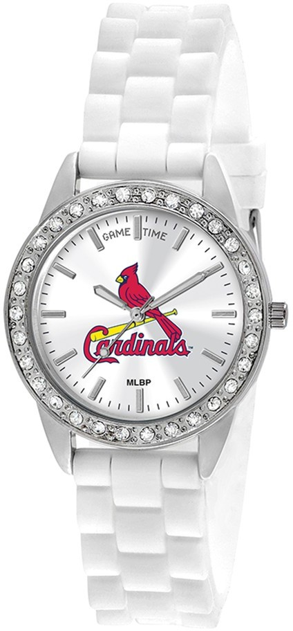 ladies mlb st louis cardinals frost watch