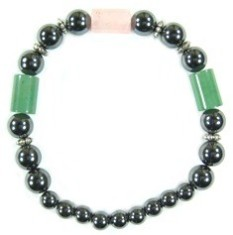Mayan Dream - Hematite Magnetic Therapy Bracelet (MHB-22) - DISCONTINUED