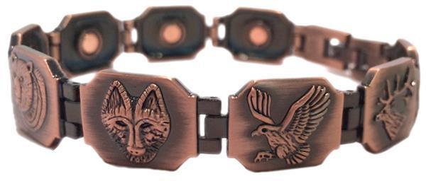 Copper Wilderness - Magnetic Therapy Bracelet (CLN-10) - New!