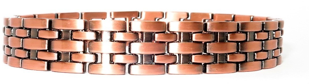 Copper Basketweave - Magnetic Therapy Bracelet (CLN-5) - New!