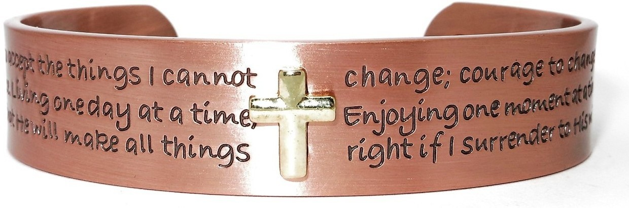 """Grace"" -  Solid Copper Magnetic Therapy Bracelet"