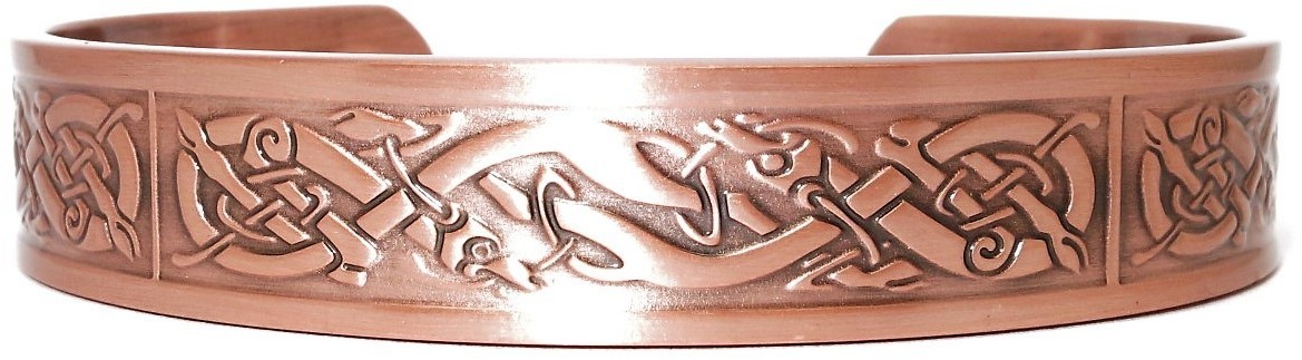 """Inspiration"" -  Solid Copper Magnetic Therapy Bracelet"
