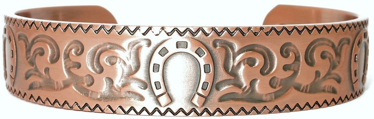 """Cavalry"" - Solid Copper Magnetic Therapy Bracelet"