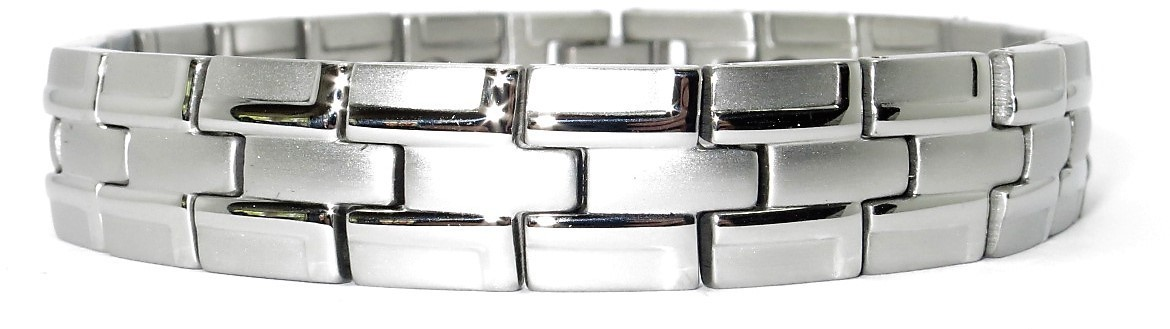 Majestic - Stainless Steel Magnetic Therapy Bracelet (CSS-54)