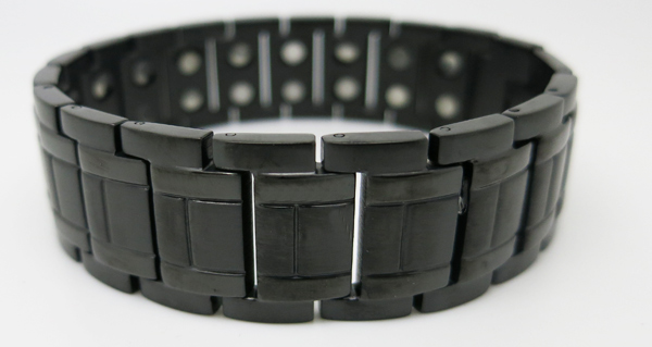Galaxy (two 5,000 gauss) - Stainless Steel Magnetic Therapy Bracelet (SS2655002