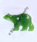 Jade Polar Bear Magnet - DISCONTINUED