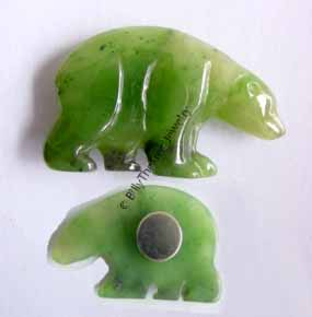 Jade Bear Magnet - DISCONTINUED