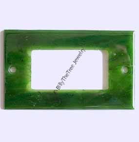 Jade Light Switch Plate - Modern