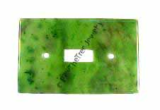 Jade Light Switch Plate - Traditional