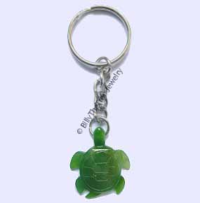 Jade Turtle Keychain (NJ-0473-KC)