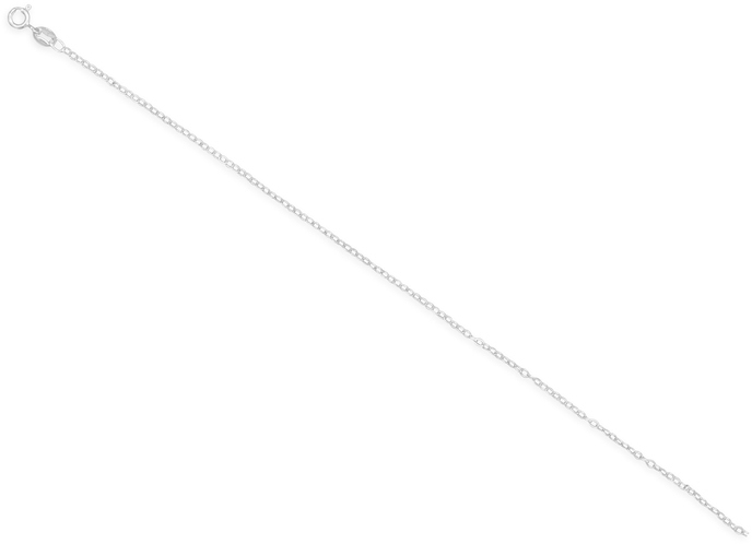 "24"" 030 Open Cable Chain Necklace (1.5mm) 925 Sterling Silver"