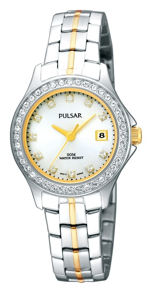 Pulsar Swarovski Crystal PH7227 - Quartz Pulsar Watch (Women's) - DISCONTINUED
