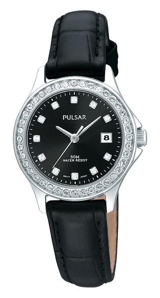 Pulsar Swarovski Crystal PH7229 - Quartz Pulsar Watch (Women's)