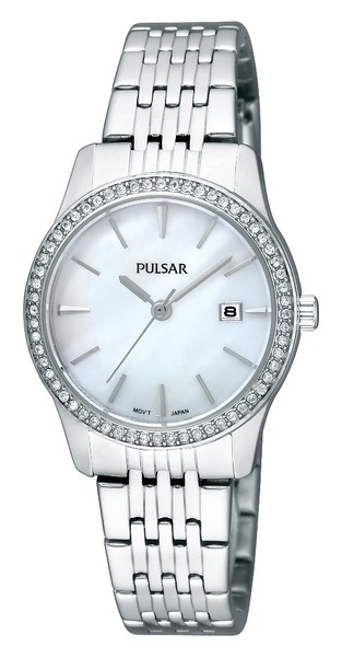 Pulsar Swarovski Crystal PH7233 - Quartz Pulsar Watch (Womens) - DISCONTINUED