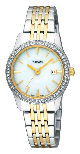 Pulsar Swarovski Crystal PH7235 - Quartz Pulsar Watch (Womens) - DISCONTINUED