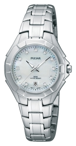 Pulsar Swarovski Crystal PH7239 - Quartz Pulsar Watch (Women's) - DISCONTINUED