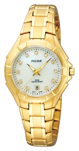 Pulsar Swarovski Crystal PH7242 - Quartz Pulsar Watch (Women's) - DISCONTINUED