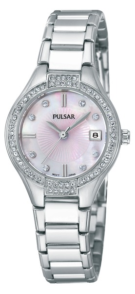 Pulsar Swarovski Crystal PH7289 - Quartz Pulsar Watch (Womens) - DISCONTINUED