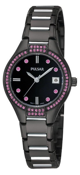 Pulsar Swarovski Crystal PH7291 - Quartz Pulsar Watch (Women's) - DISCONTINUED