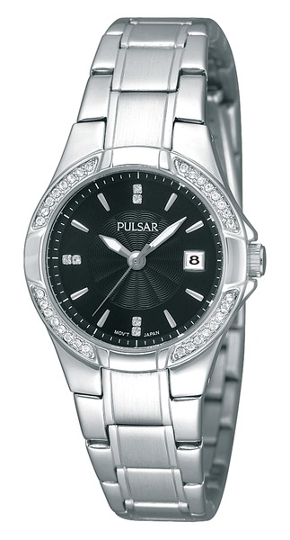 Pulsar Swarovski Crystal PH7293 - Quartz Pulsar Watch (Womens) - DISCONTINUED