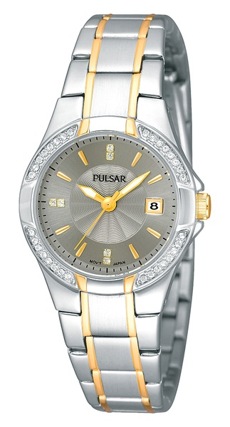 Pulsar Swarovski Crystal PH7294 - Quartz Pulsar Watch (Womens)
