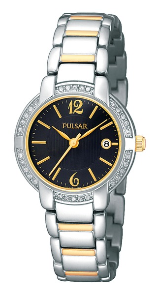 Pulsar Swarovski Crystal PH7301 - Quartz Pulsar Watch (Womens) - DISCONTINUED