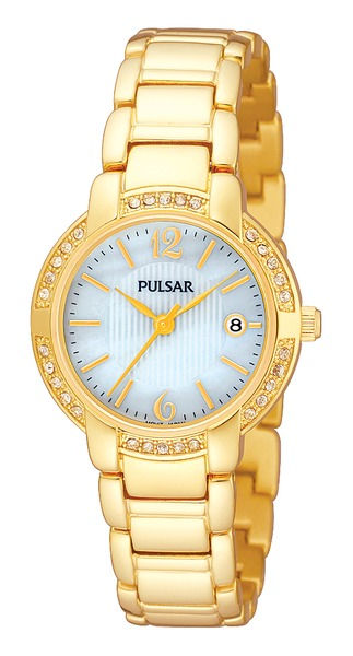 Pulsar Swarovski Crystal PH7302 - Quartz Pulsar Watch (Women's) - DISCONTINUED