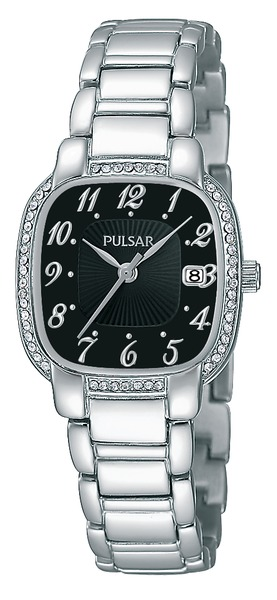 Pulsar Swarovski Crystal PH7303 - Quartz Pulsar Watch (Women's) - DISCONTINUED