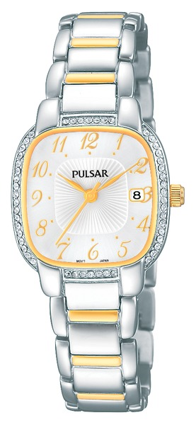 Pulsar Swarovski Crystal PH7305 - Quartz Pulsar Watch (Women's) - DISCONTINUED