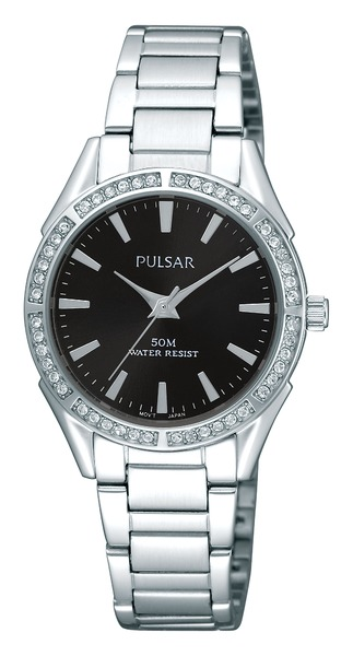 Pulsar Swarovski Crystal PH8019X - Quartz Pulsar Watch (Womens) - SALE!