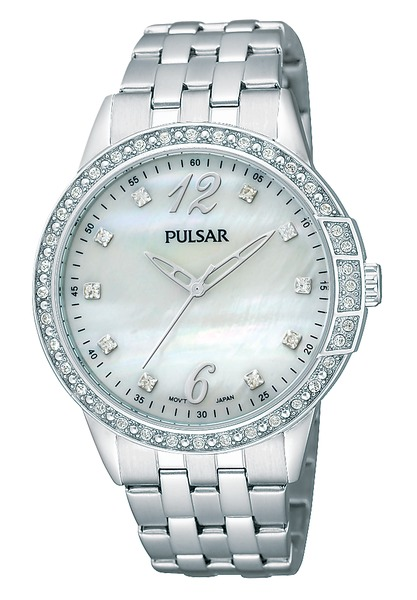 Pulsar Swarovski Crystal PH8051 - Quartz Pulsar Watch (Women's)