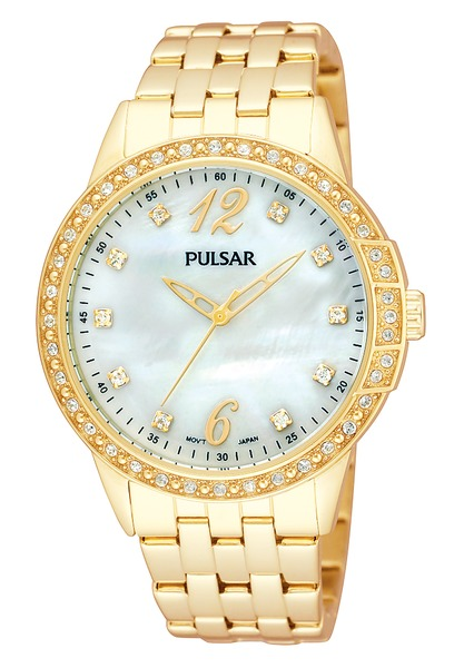 Pulsar Swarovski Crystal PH8052 - Quartz Pulsar Watch (Womens)
