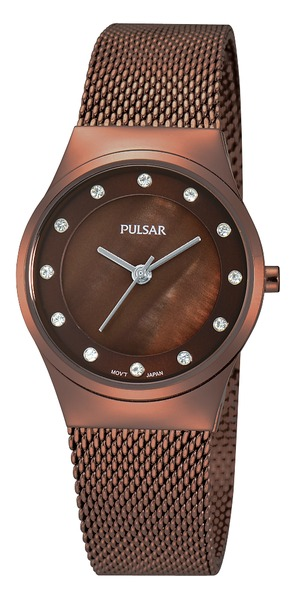 Pulsar Swarovski Crystal PH8055 - Quartz Pulsar Watch (Women's)