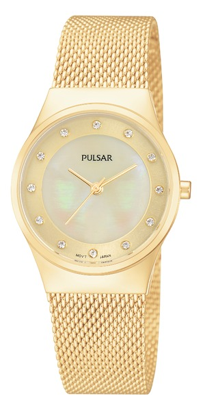 Pulsar Swarovski Crystal PH8056 - Quartz Pulsar Watch (Women's)