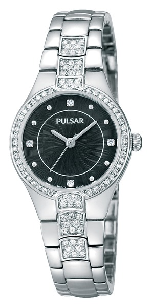 Pulsar Swarovski Crystal PH8057 - Quartz Pulsar Watch (Women's)