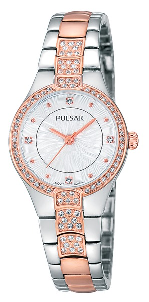 Pulsar Swarovski Crystal PH8058 - Quartz Pulsar Watch (Women's)