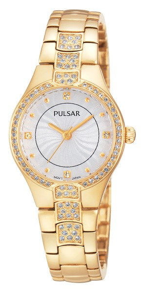 Pulsar Swarovski Crystal PH8060 - Quartz Pulsar Watch (Women's)