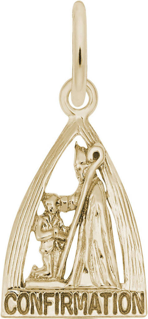 Confirmation Charm (Choose Metal) by Rembrandt