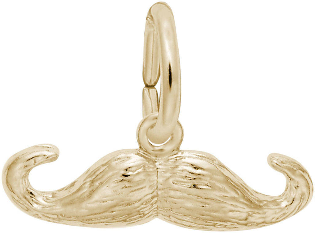 Moustache Charm (Choose Metal) by Rembrandt